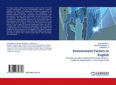 Bookcover of Environment Factors in English