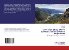 Bookcover of Evaluation Study of Sub Surface Land Reclamation Programme