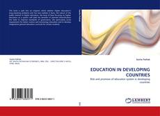 Couverture de EDUCATION IN DEVELOPING COUNTRIES