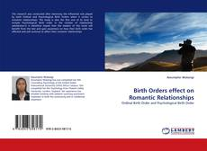 Обложка Birth Orders effect on Romantic Relationships
