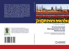 Bookcover of Environmental Management in the Netherlands
