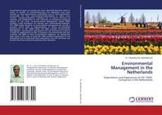 Buchcover von Environmental Management in the Netherlands