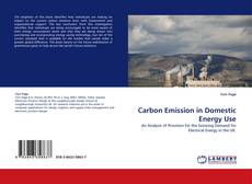 Bookcover of Carbon Emission in Domestic Energy Use