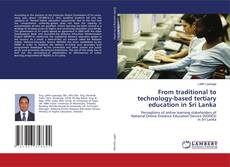 Buchcover von From traditional to technology-based tertiary education in Sri Lanka