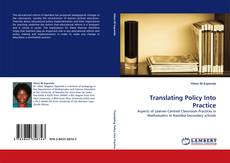 Bookcover of Translating Policy Into Practice