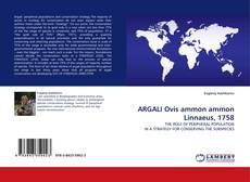 Couverture de ARGALI Ovis ammon ammon Linnaeus, 1758