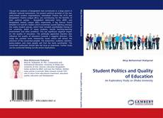 Bookcover of Student Politics and Quality of Education