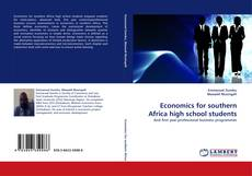 Buchcover von Economics for southern Africa high school students