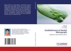 Borítókép a  Establishment of Herbal Monograph - hoz