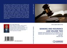 Couverture de BANKING AND INSURANCE LAW VOLUME TWO