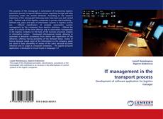 Bookcover of IT management in the transport process