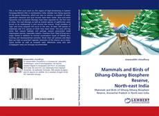 Couverture de Mammals and Birds of Dihang-Dibang Biosphere Reserve, North-east India