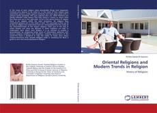 Buchcover von Oriental Religions and Modern Trends in Religion
