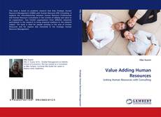 Bookcover of Value Adding Human Resources