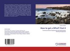 Bookcover of How to get a DProf? Part II