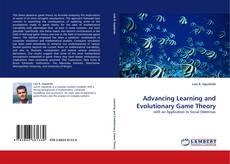 Portada del libro de Advancing Learning and Evolutionary Game Theory