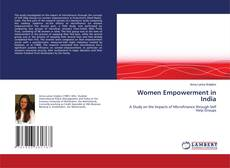 Portada del libro de Women Empowerment in India