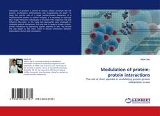 Buchcover von Modulation of protein-protein interactions