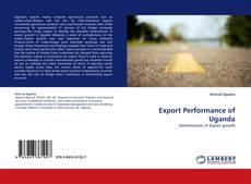 Bookcover of Export Performance of Uganda