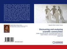 Portada del libro de Discovering and analyzing scientific communities