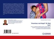 Portada del libro de Promises not Kept? Or Not Yet?