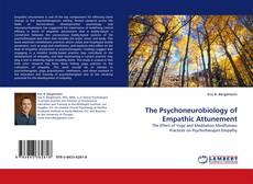 Buchcover von The Psychoneurobiology of Empathic Attunement