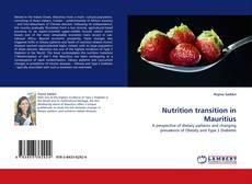 Portada del libro de Nutrition transition in Mauritius