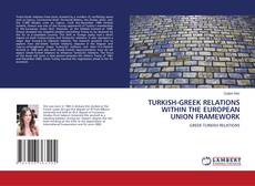 Bookcover of TURKISH-GREEK RELATIONS WITHIN THE EUROPEAN UNION FRAMEWORK