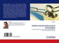 Buchcover von Platform-Based Authorization Technologies