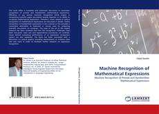 Обложка Machine Recognition of Mathematical Expressions