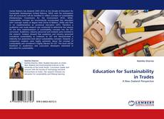 Bookcover of Education for Sustainability in Trades