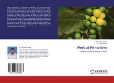 Buchcover von Work at Plantations