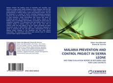 Portada del libro de MALARIA PREVENTION AND CONTROL PROJECT IN SIERRA LEONE