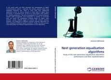 Capa do livro de Next generation equalisation algorithms