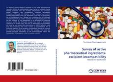 Bookcover of Survey of active pharmaceutical ingredients-excipient incompatibility