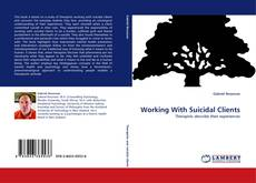 Capa do livro de Working With Suicidal Clients