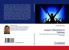 Bookcover of Lawyers'' Movement in Pakistan