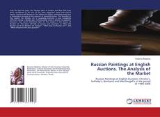 Capa do livro de Russian Paintings at English Auctions. The Analysis of the Market