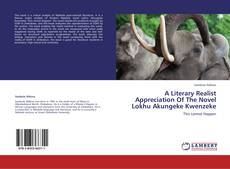 Bookcover of A Literary Realist Appreciation Of The Novel Lokhu Akungeke Kwenzeke