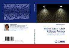 Обложка Political Culture in Post Unification Germany