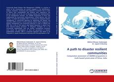 Обложка A path to disaster resilient communities