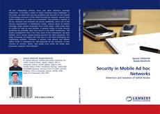 Capa do livro de Security in Mobile Ad hoc Networks