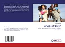 Bookcover of Culture and tourism
