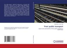 Bookcover of ''Free'' public transport
