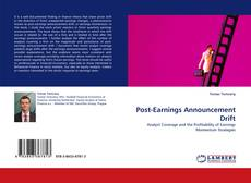 Bookcover of Post-Earnings Announcement Drift