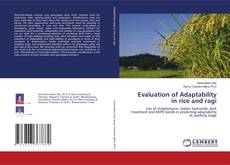 Bookcover of Evaluation of Adaptability in rice and ragi