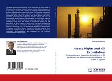 Buchcover von Access Rights and Oil Exploitation