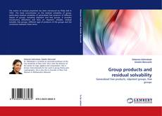 Bookcover of Group products and residual solvability