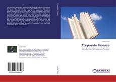 Bookcover of Corporate Finance