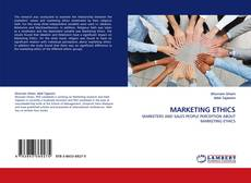 Buchcover von MARKETING ETHICS